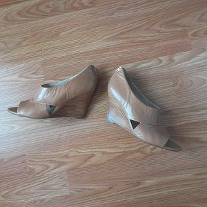 Shoes - Franco Sarto Peep-toe Wedge